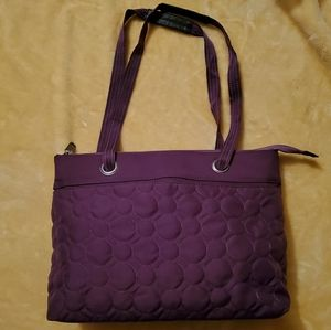 "Thirty One ""Vary You"" Quilted Sachel"